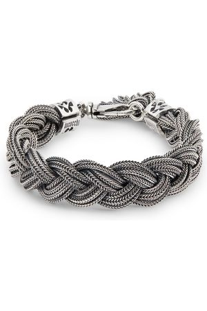 EMANUELE BICOCCHI Sterling Braided Tassel Bracelet