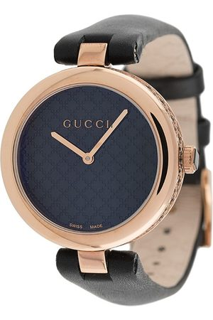 Gucci Men Watches - Diamantissima leather watch