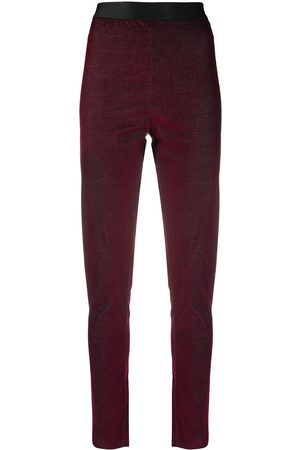 ANN DEMEULEMEESTER Skinny fit trousers