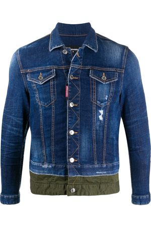 Dsquared2 Two-tone denim jacket
