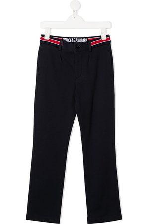 Dolce & Gabbana Logo waist trousers