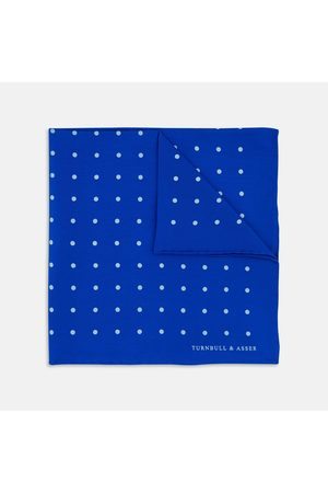 Turnbull & Asser Bright Spot Silk Pocket Square