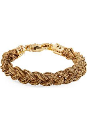 Emanuele Bicocchi Men Bracelets - Plated Braided Bracelet