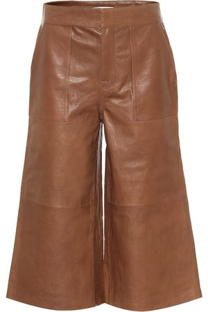 Frame Leather culottes