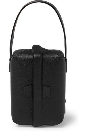 VALEXTRA Pebble-Grain Leather Tote Bag