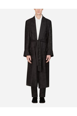 Dolce & Gabbana Coats and Blazers - SILK JACQUARD ROBE