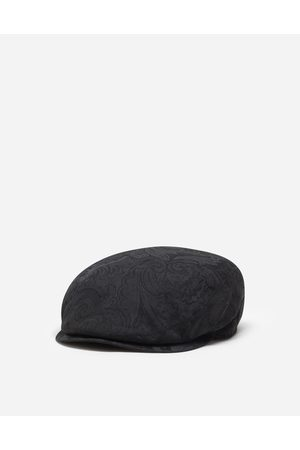 Dolce & Gabbana Hats and Gloves - STRETCH COTTON FLAT CAP
