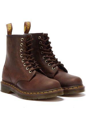 Dr. Martens Dr. Martens 1460 Crazy Horse Mens Gaucho Leather Ankle Boots