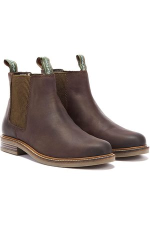Barbour Farsley Mens Choco Chelsea Boots