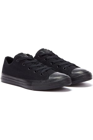 Converse Kids Monochrome All Star Low Trainers