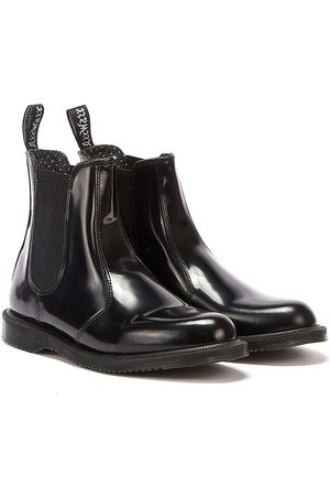 Dr. Martens Dr. Martens Flora Smooth Womens Leather Boots