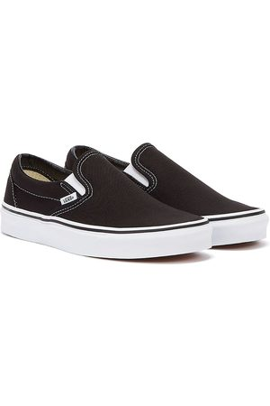 Vans Classic Slip on / White Canvas Trainers