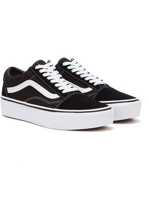 Vans Old Skool Platform / White Womens Trainers