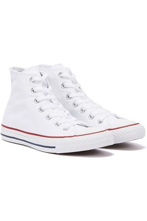 Converse All Star Hi Womens Optical Canvas Trainers