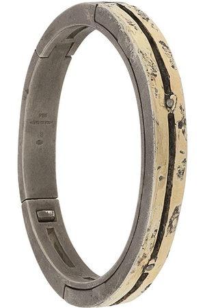 Parts of Four Bracelets - Sistema hammered-effect bracelet