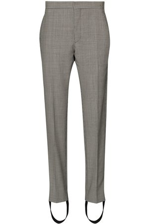 WARDROBE.NYC X Browns 50 houndstooth-print stirrup trousers