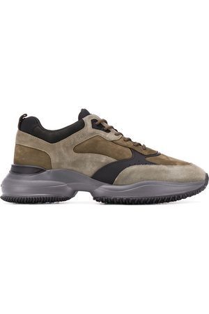 Hogan Interaction oversized sole sneakers