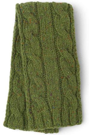 Prada Cable-knit wool scarf