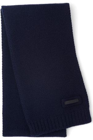 Prada Logo patch scarf