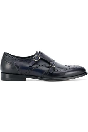 Scarosso Kate perforated monk shoes