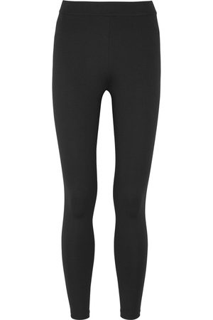 Vince Cropped Stretch-jersey Leggings