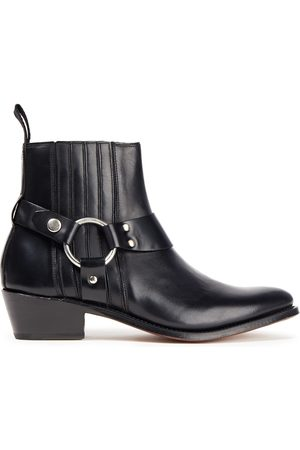 GRENSON Women Ankle Boots - Woman Marley Ring-embellished Leather Ankle Boots Size 3