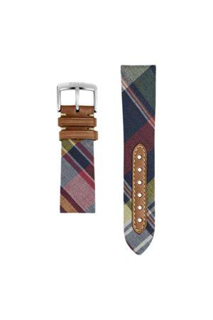 Polo Ralph Lauren Tartan Tie Silk Watch Strap