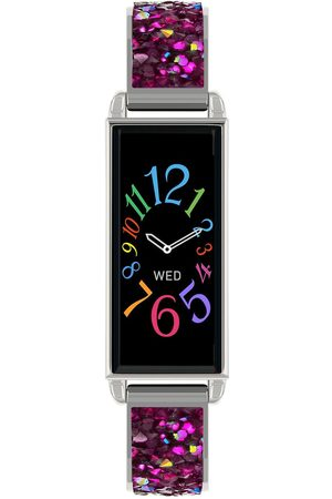 Reflex Active Series 2 Smart Watch With Colour Touch Screen And Pink Crystal Rocks Strap