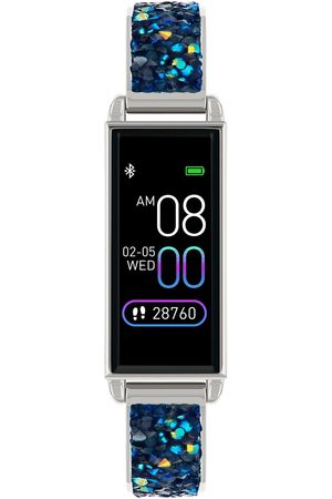Reflex Active Series 2 Smart Watch With Colour Touch Screen And Blue Crystal Rocks Strap