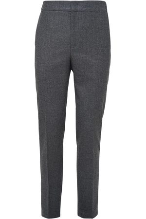 Loro Piana Men Trousers - 17cm Flannel Wool & Cashmere Pants
