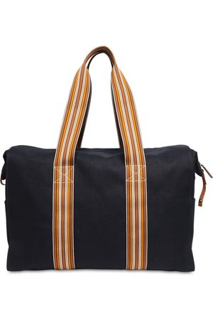 Loro Piana The Suitcase Cotton Canvas Weekend Bag