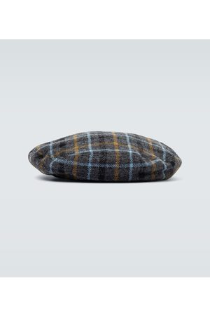 UNDERCOVER Wool checked beret