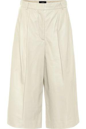 Joseph Timo leather Bermuda shorts