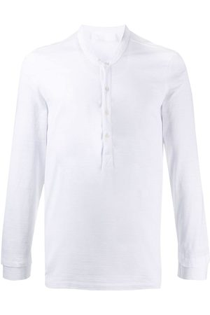 Neil Barrett Buttoned long-sleeve T-shirt