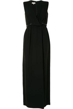 DELPOZO V-neck long dress