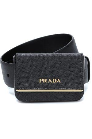 Prada Logo leather belt bag