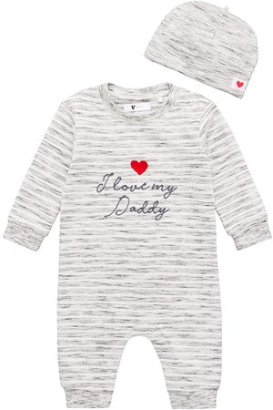 Very Unisex I Love Daddy Romper And Hat