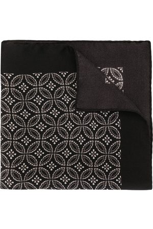 Dolce & Gabbana Geometric print silk pocket square