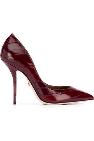 Dolce & Gabbana Cardinal leather pumps