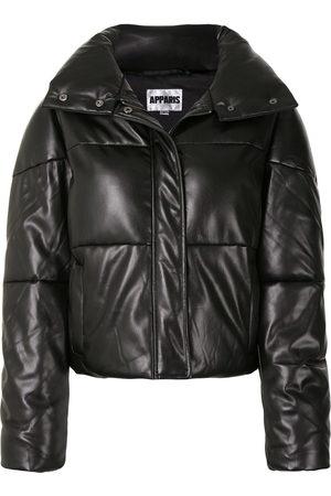 Apparis Jemma faux-leather puffer coat