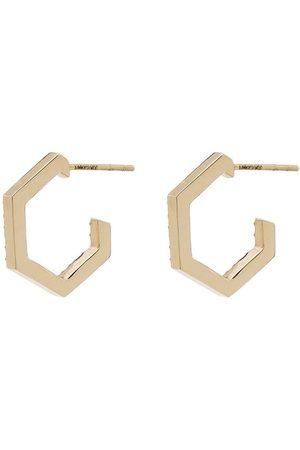 LOREN STEWART Women Earrings - Diamond-embellished hexagon earrings