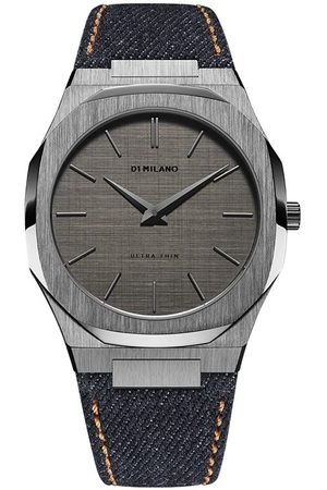 D1 Milano Men Watches - Grunge Denim Ultra Thin 40mm