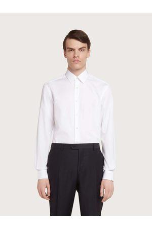 Salvatore Ferragamo Men Shirts - Men Derby fit shirt