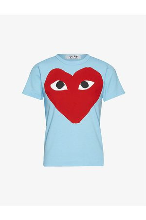 Comme des Garçons Graphic-print cotton-jersey T-shirt