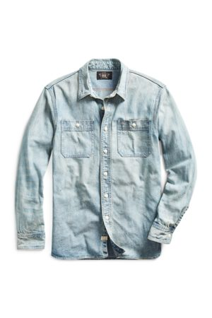RRL Indigo Denim Workshirt