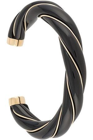Aurélie Bidermann Women Bracelets - Diana enamelled twisted cuff