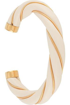 Aurelie Bidermann Women Bracelets - Diana twisted bangle - Neutrals