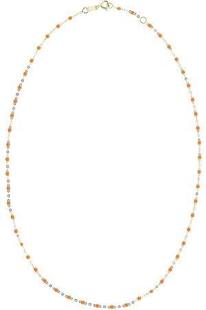 GIGI CLOZEAU 18kt yellow gold classic Gigi necklace - YG/PPPY