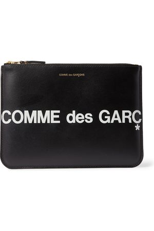 Comme des Garçons Men Laptop & Business Bags - Logo-Print Leather Pouch
