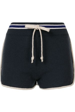CHANEL 2009 Sport knitted drawstring shorts